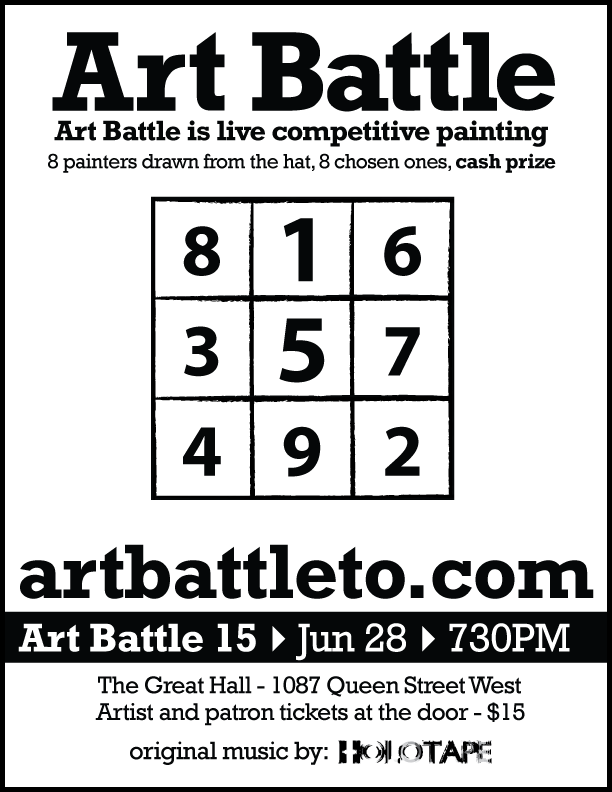 Art Battle 15 Poster